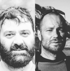 """Papigo Rafting» in essence are: Giannis Christodoulou (Rafting Guide IRF, Shift Water Technicians Rescue 3, Sociologist) and Giannis Kouratoras (Rafting Guide IRF, Shift Water Technicians Rescue 3, Electrical Engineering). Or else the Giannides!"