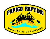 logo Papigo Rafting, Zagori