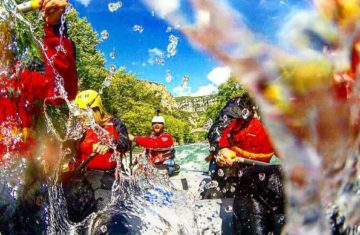 Whitewater rafting Voidomatis Aoos