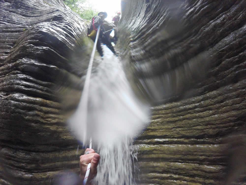 canyoning - Voidomatis, Papigo, Zagori
